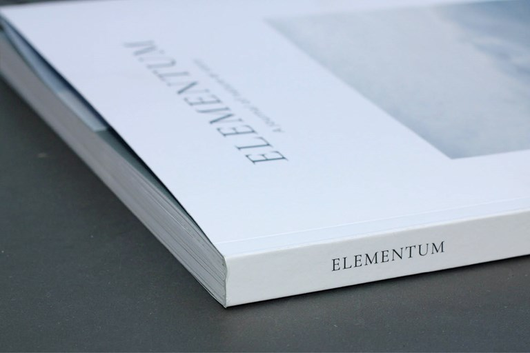 Elementum, design, print, publication, magazine, nature, clean, presentation, layout, Design79, Cornwall, Art, elegant,