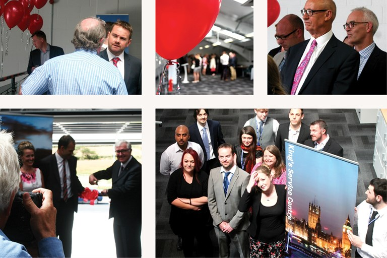 Kings Service Centre, opening event montage