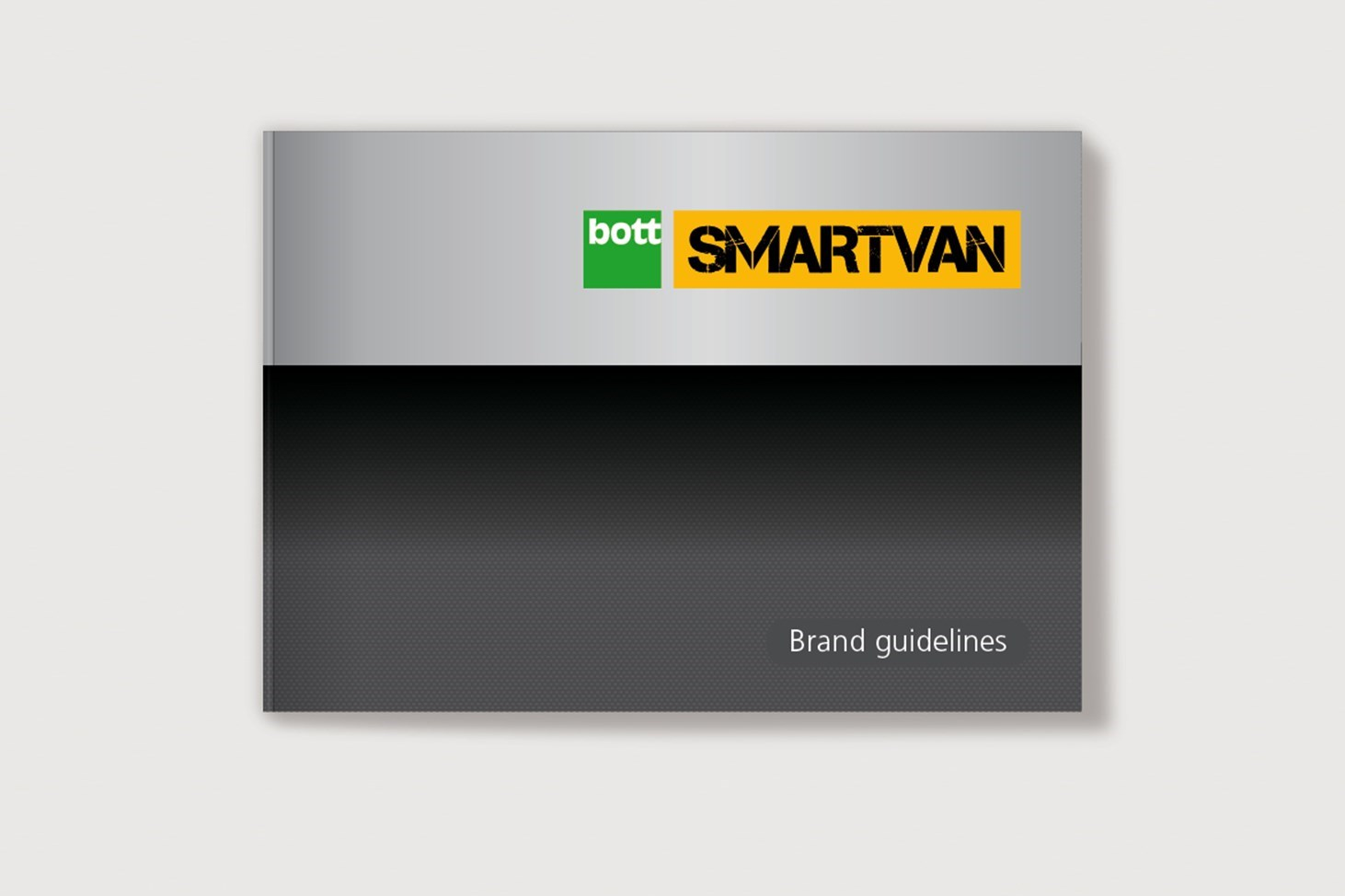 the cover for Bott Smartvan brand guidelines