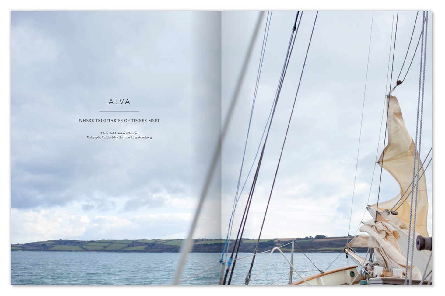 Elementum, design, print, publication, magazine, nature, clean, presentation, layout, Design79, boat, sky, Cornwall