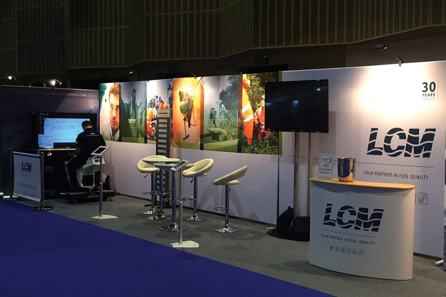 LCM, Environmental, industrial, graphic design, Design79, Cornwall, Exeter, large scale, artwork, exhibition, stands, display
